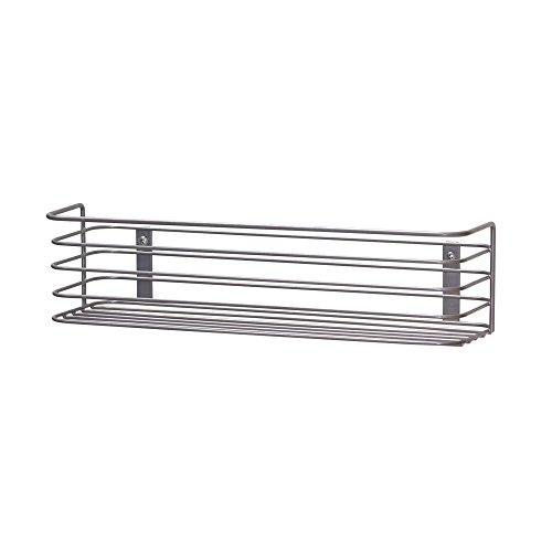Household Essentials 1226-1 Kitchen and Bath Under Sink Storage Basket Organizer - 133 Wide - Mounts to Cabinet Doors and Walls - Metal