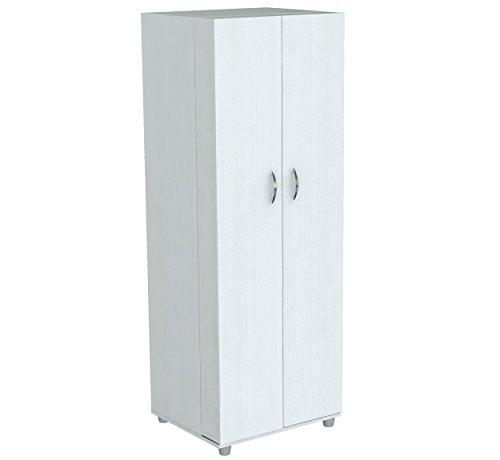 Inval America 2 Door Storage Cabinet Laricina White