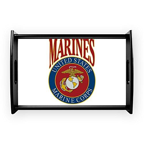 Small Serving Tray US Marines Marine Corps Emblem