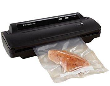 FoodSaver V2222 Vacuum Sealing System Starter Kit Black