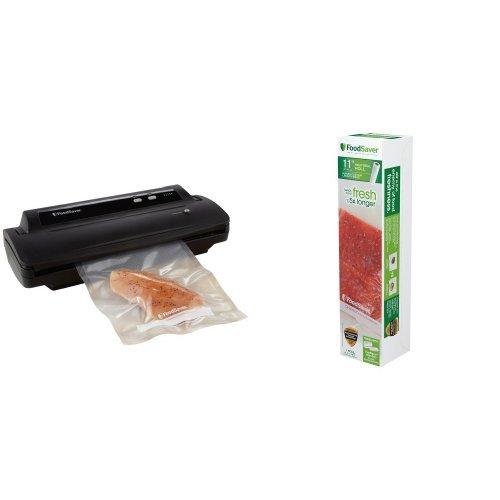 FoodSaver V2244 Vacuum Sealing System and 11 Roll Bundle