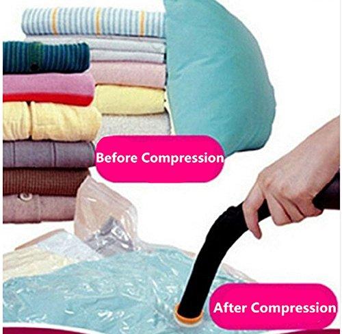 HS 1PC Vacuum Storage Bags Compressed Space Organizer Space Saver Bags M