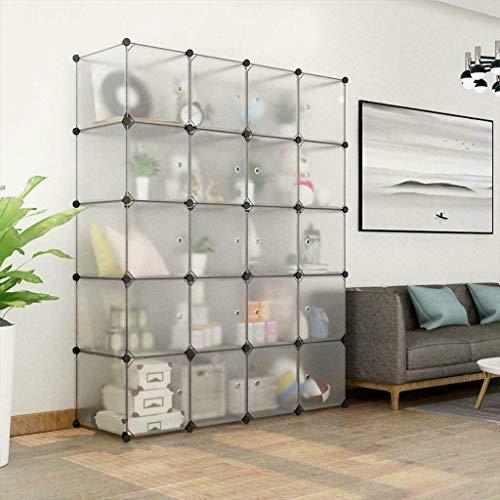 20-Cube DIY Large Shelf Rack Closet Storage Organizer Clothes Wardrobe Cabinet