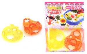1 X Plastic Bento Box Food Mold Vegetable Cutter 6421