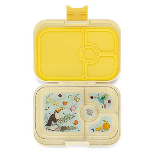 Yumbox Panino Leakproof Bento Lunch Box Container for Kids Adults Sunburst Yellow