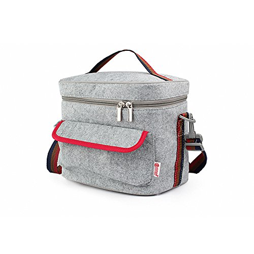 Lunch Bags Pretty Handy Insulated Lunch Bag Cooler Bag Reusable Picnic Lunch Bags Boxes with Zipper Closure for Men Women Adults Kids