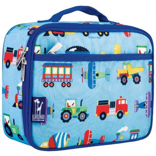 Olive Kids Trains Planes Trucks Lunch Box