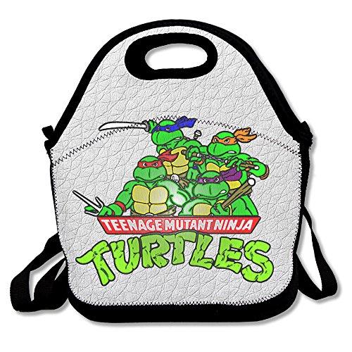 Reusable Teenage Mutant Ninja Turtles Galf Shell Heroes Crossbody Clear Lunch Bags