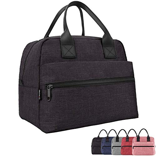 Lunch Bags For Women&Men Insulated Lunch Box For Lunch Cooler ToteBlack
