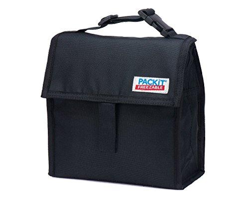 PVC BPA Phthalate Lead Free Mini Lunch Bag in Black