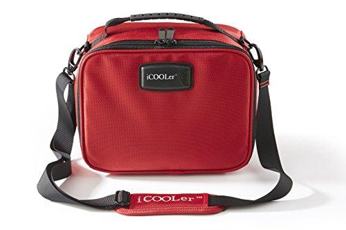 iCOOLer Freezable Lunch Bag Medium Red