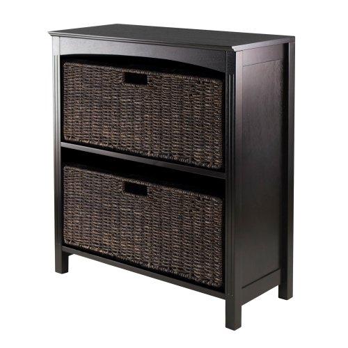 Winsome Terrace 3-Piece Storage ShelfBookcase