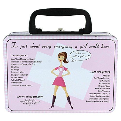 Safety Girl Purple Lunchbox