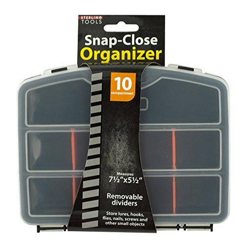 123-Wholesale - Set of 36 Snap-Close Tool Organizer Case - Tools Tool Storage Organization