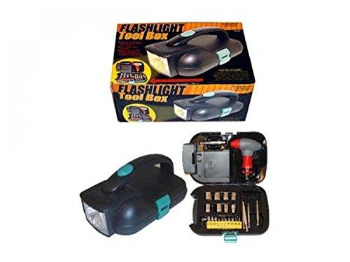StarSun Depot Flashlight Toolbox - Set of 2 Tools Tool Storage Organization