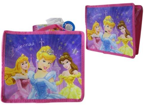 Disney Princess Cinderella Belle Sleeping Beauty Sparkle Lunch Box- Disney Princess Lunch Bag