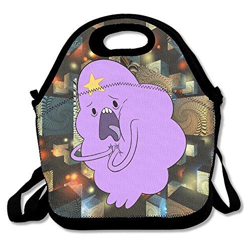 TRYdoo Adventure Time Lumpy Space Princess Handbag Lunch Bags Snack Bags