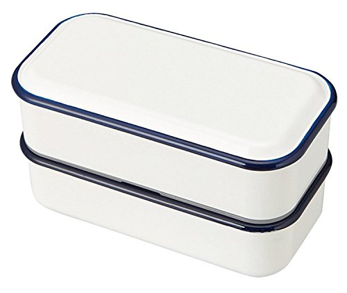 Retromoda Square Lunch Box 550ml Navy