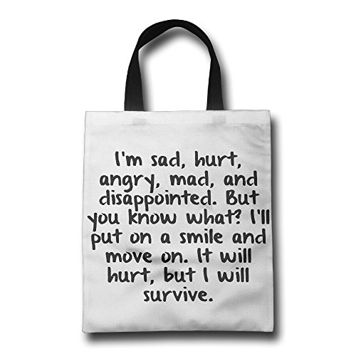 Shopping bags black and white English Words Saying Black Letter Canvas Shopping Tote Bag Grocery Bag Shopping Bag Holder Popular