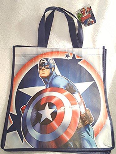 AVENGERS LARGE REUSABLE BAG ~ Captain America