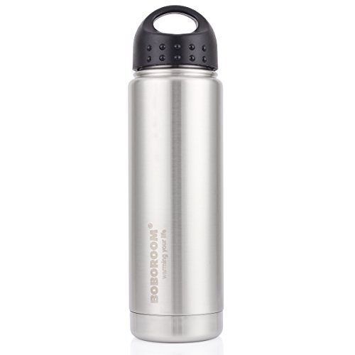 BOBOROOM 650ml22oz Vacuum Flasks Insulated Stainless Thermos Outdoor Sport Camping Water Bottle