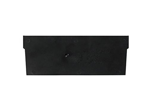 RetailSource 7 x 3 Plastic Shelf Bin Dividers Pack of 50