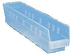 Uline Plastic Shelf Bins s-16295 4x18x4