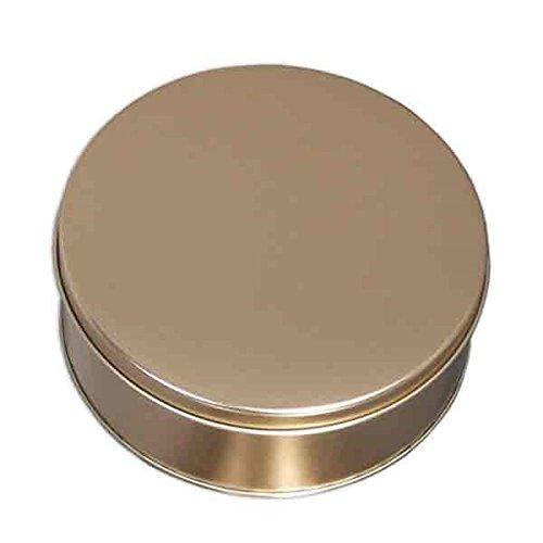 Bradshaw 2 Pack Round Gift Tins Rose Gold