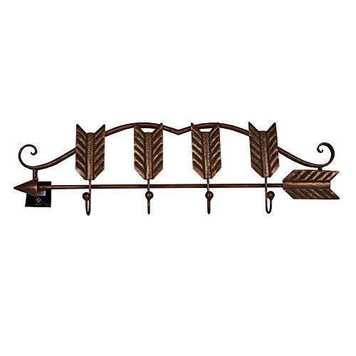 Concepts Copper Cast Iron 4 Hook Wall Hanger