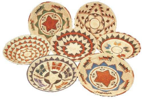 Handwoven Decorative Basket 1 pc