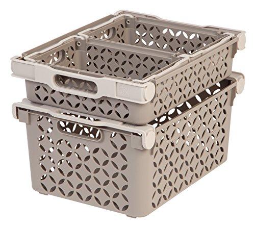 IRIS Decorative Basket Combination 4 Pack