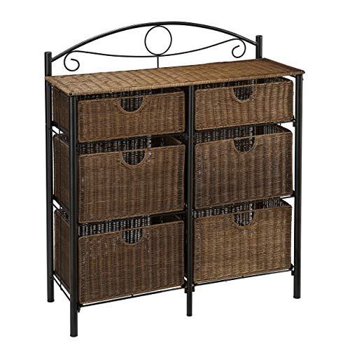 Furniture HotSpot IronWicker Storage Chest