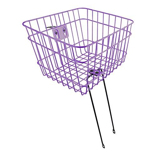 Sunlite Large Basket w Fixed Struts Purple