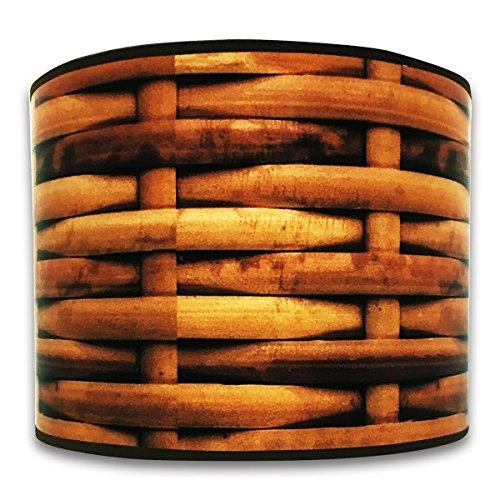 Royal Designs 10 Basket Weave Designer Hard Back Lampshade Made in the USA 10 x 10 x 7 HBC-8011-10