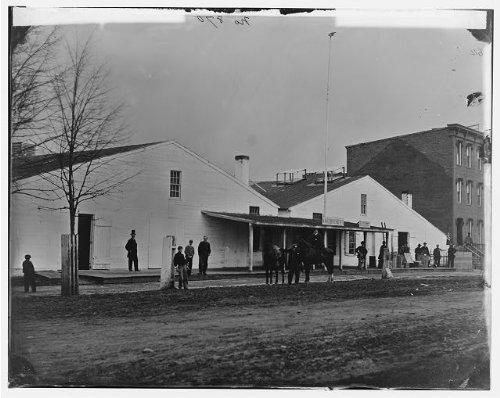Photo Quartermaster warehousestorageroadsWashington DCUnited States Civil War1864