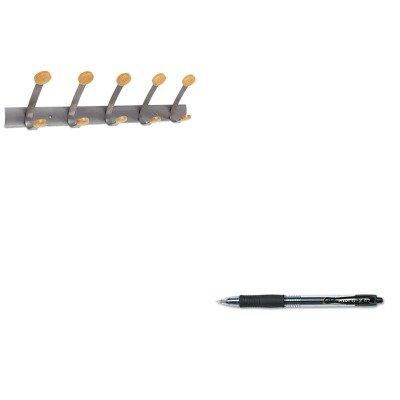 KITABAPMV5PIL31020 - Value Kit - Alba Wooden Coat Hook ABAPMV5 and Pilot G2 Gel Ink Pen PIL31020