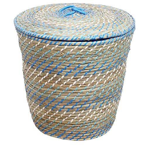 Large Straw Basket 38 x 40 cm