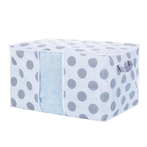 Transer Foldable Storage Bag Clothes Blanket Quilt Closet Sweater Organizer Box Pouches C Multicolor