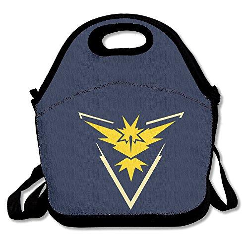 Funyoobag Legendary Pokemon Go Pokemon Lunch Bag Tote Handbag