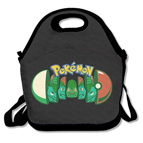 Grass Pokemon Bulbasaur Lunch Box Bag For Student Kids Adult Men Women Girl Boylunch Tote Lunch Holder With Adjustable Strap double Shoulder