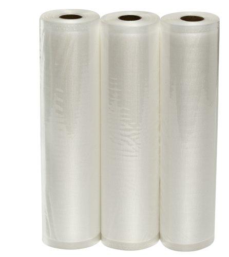 VacMaster Three 115 X 20 Rolls of Vacuum Sealer Bags for Foodsaver