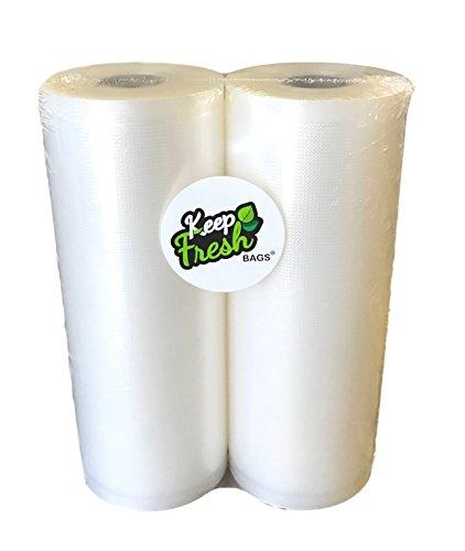 KeepFresh KF8502 8 x 50 Vacuum Sealer Bags 35mil Commercial Grade 2 Rolls