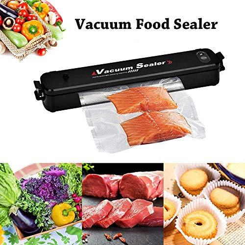 Vacuum Sealer Machine Food Saver Vacuum Sealer System Multifunction Automatic Vacuum Sealer for Food Preservation Led Indicator Lights with 15 Sealer Bags