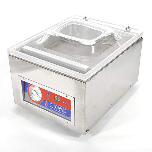 WUPYI Vacuum Sealer MachineDesktop Commercial Vacuum Sealer System Vacuum Packaging Sealing Machine Kitchen Storage Packer for Food Storage Saver Preserving110V 120W