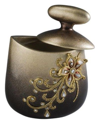 Ore International K-4248JX Sapphire Rose Decorative Jewelry Box