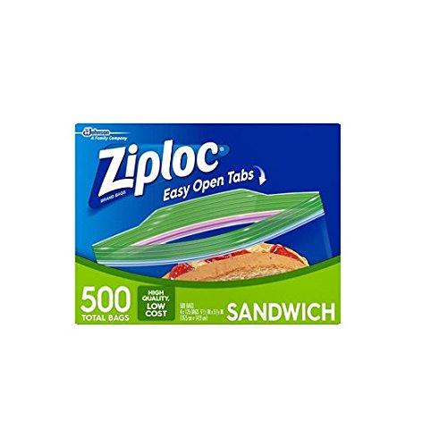 Ziploc Sandwich Bags 500 ct