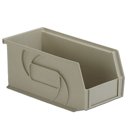 Lewisbins Polypropylene Bins Stone 55x109x5 - Lot of 12