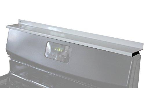 StoveShelf - White - 30 - Magnetic Shelf for Kitchen Stove Spice Rack Kitchen Storage Solution Zero Installation