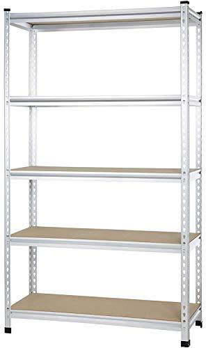 AmazonBasics AMBS05 Shelving 48 x 18 x 72 Aluminum