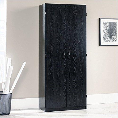 Storage Cabinet in Ebony Ash Finish